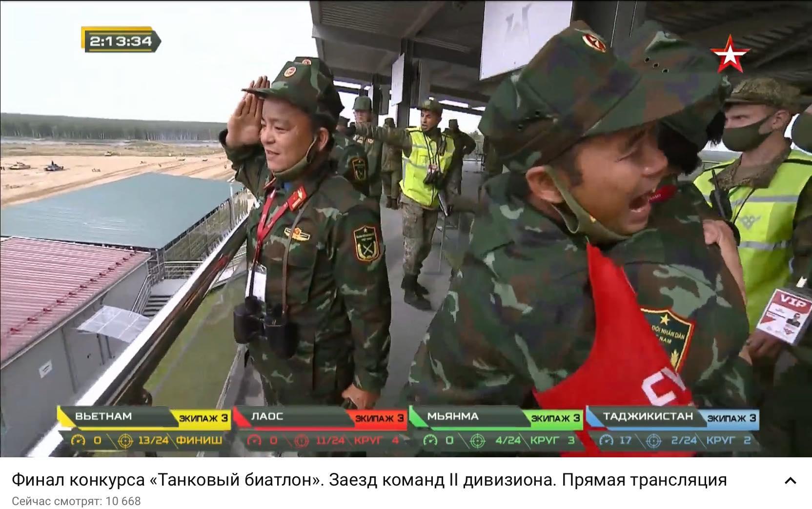 Army Games 2020: Vietnam team wins first prize in Tank Biathlon