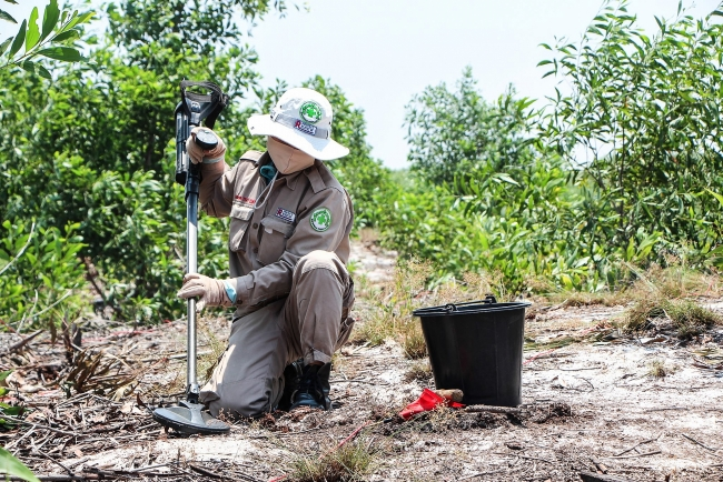 NPA returning to landmines clearance in Quang Tri amid fall in new COVID-19 cases