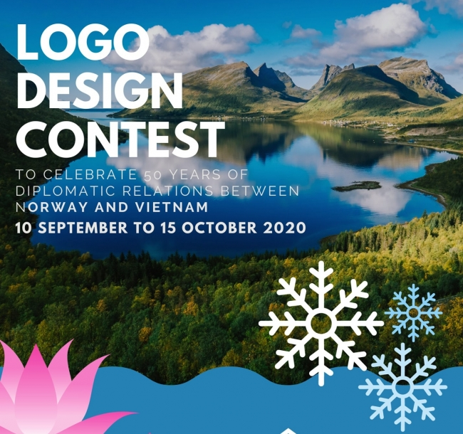 Logo design contest marking Vietnam-Norway 50 years of diplomatic ties launched