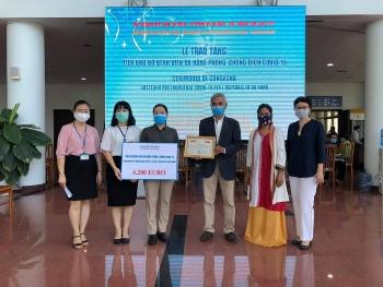 vietnamese in italy support da nang citys battle against virus