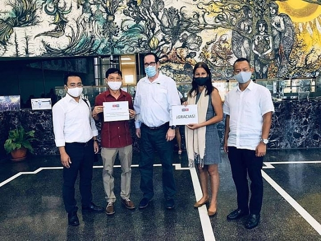Vietnamese alumni aids Cuba