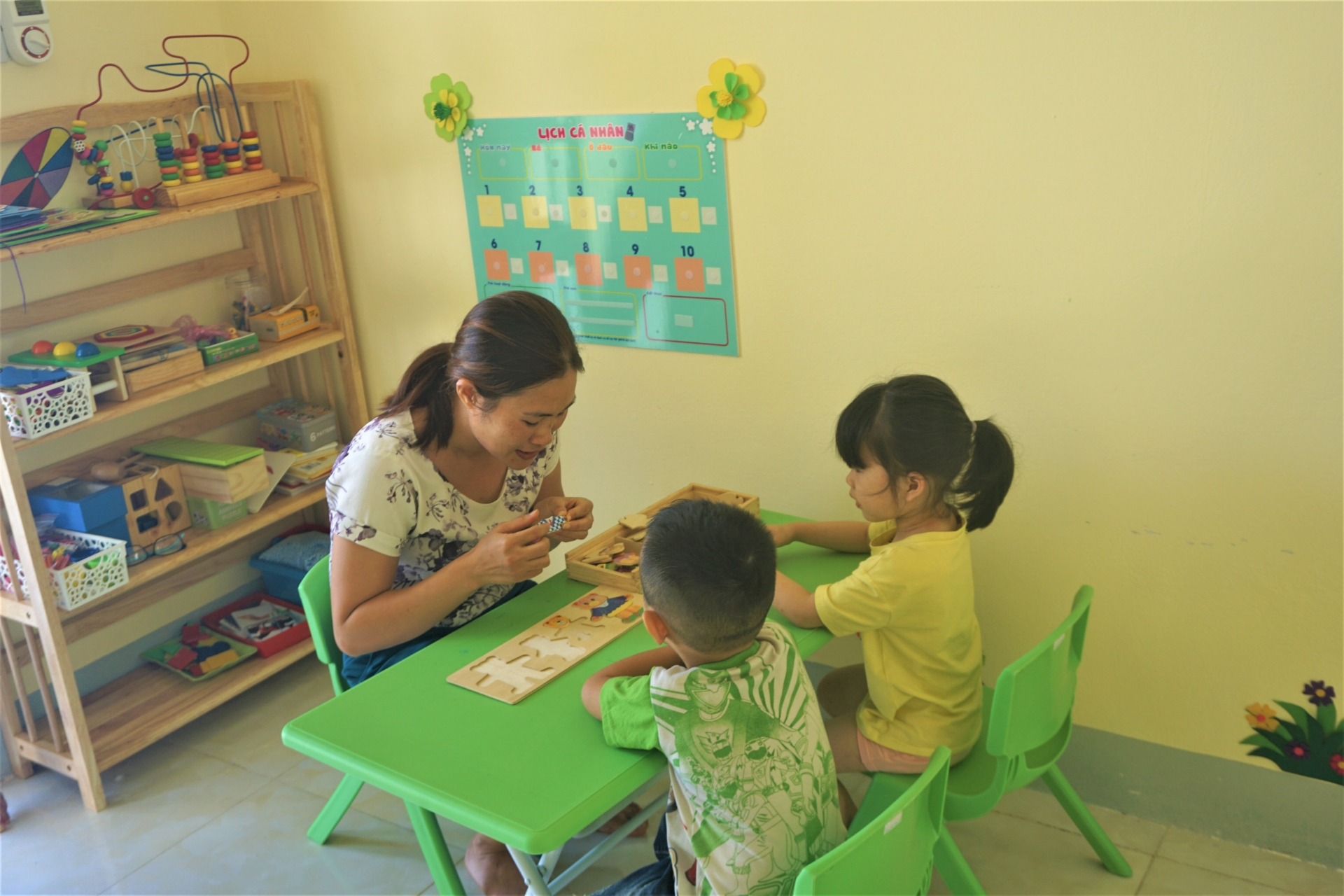 First Support Center for Inclusive Education Development in Dien Bien