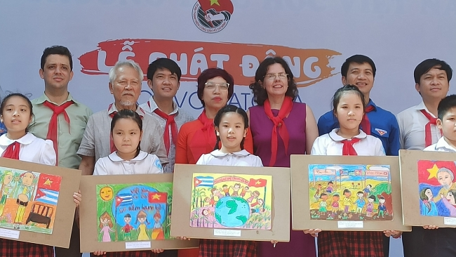Painting contest marking Vietnam-Cuba diplomatic ties launched