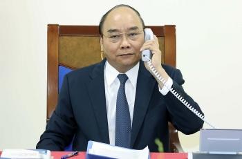 vietnamese pm german chancellor stress importance of peaceful bien dong sea issue settlement