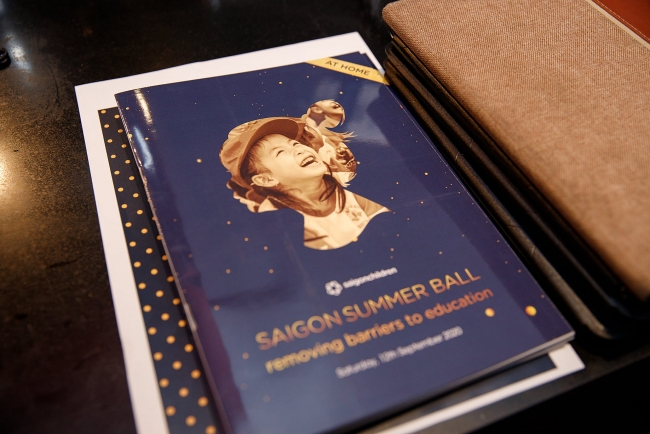 Saigon Summer Ball 2020 continues to support poor children