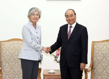 roks foreign minister hopes vietnam ease entry restrictions for essential businesspeople
