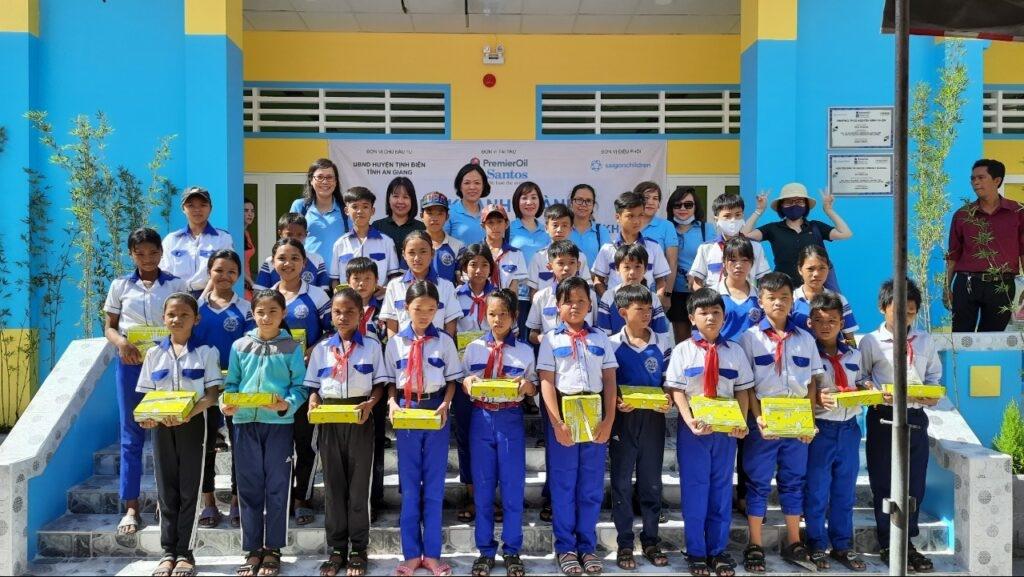 Saigonchildren builds school in An Giang