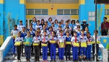 saigonchildren rebuilds old school benefiting over 600 children in an giang