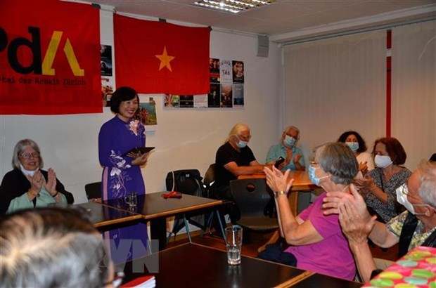 Swiss Party of Labour marks Vietnam's National Day hinh anh 1