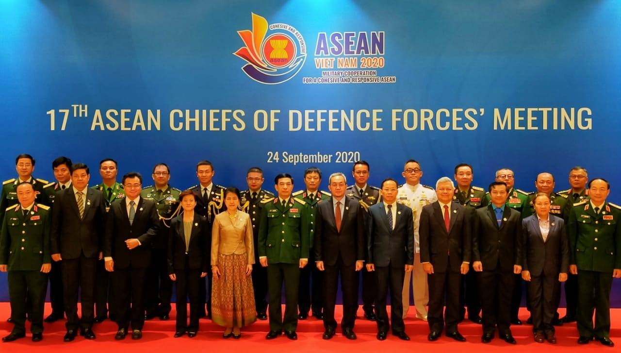 asean chiefs of defence forces highlight centrality unity at online 17th meeting