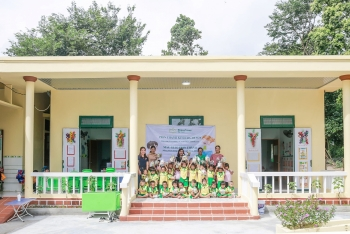 kindergarten built by peacetrees vietnam in quang tri