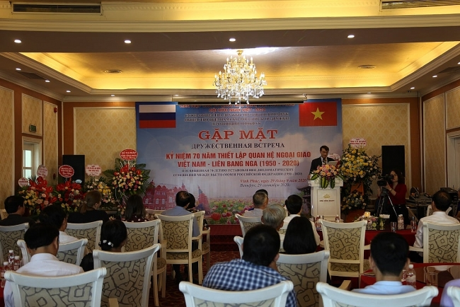 Vietnam-Russia diplomatic relations marked in Vinh Phuc