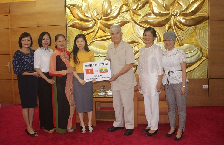 friendship association supports myanmar people against covid 19 epidemic