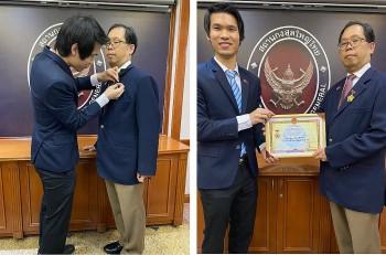 Thai Consul-General Apirat Sugondhabhirom Honoured with Medal of Friendship