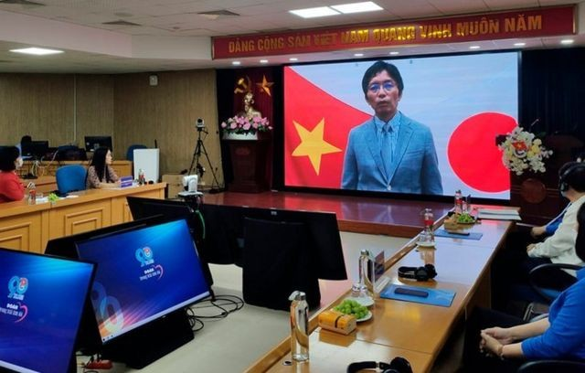 Daisuke Okabe, minister of the embassy of Japan in Vietnam