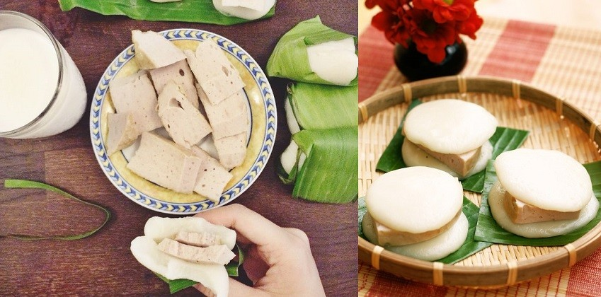 Vietnamese Banh Giay Recipe – 2 Ways of Making Steamed Rice Cakes and Pork Rolls
