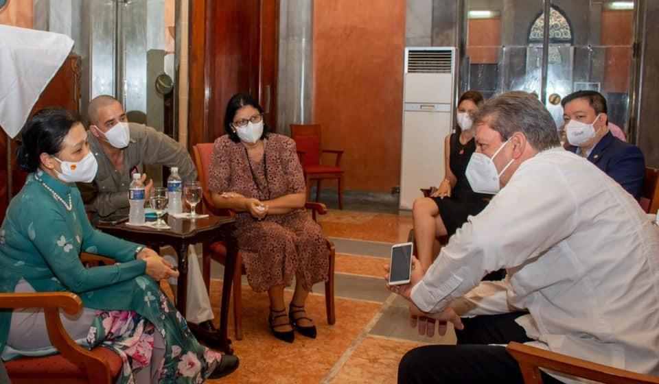 VUFO President meets ICAP leaders, visits University of Havana