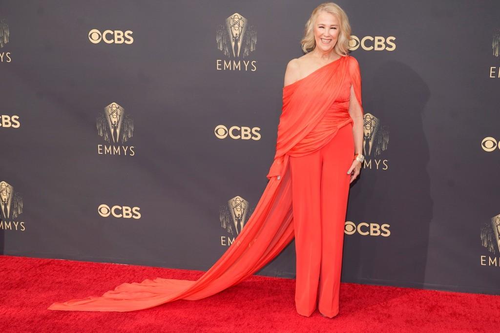 Celebrity Top Best Dressed at 2021 Emmy With Vietnamese Designer's Jumpsuit