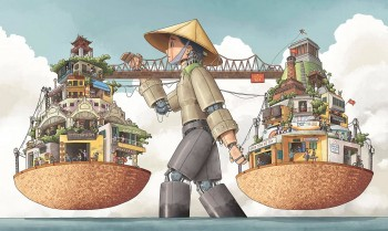"""Check Out The Winning Artworks of """"Hanoi is…"""" Illustration Contest"""