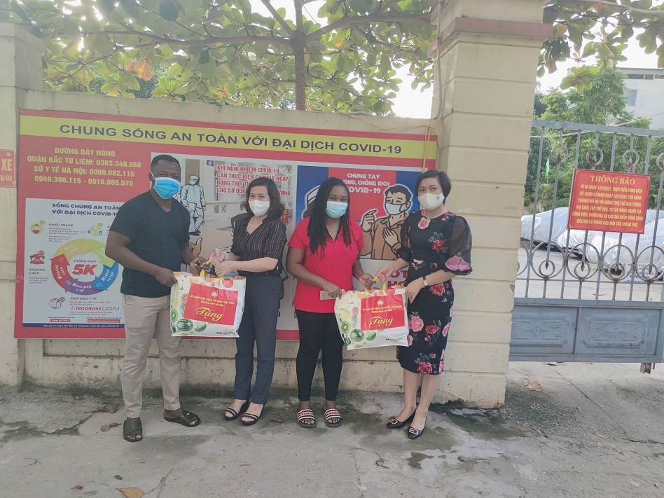 Local Friendship Unions Continue Supporting Needy People Amid Pandemic