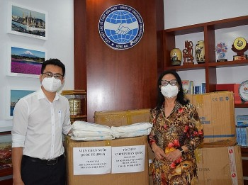 Donations Further Covid Fight in Dong Nai