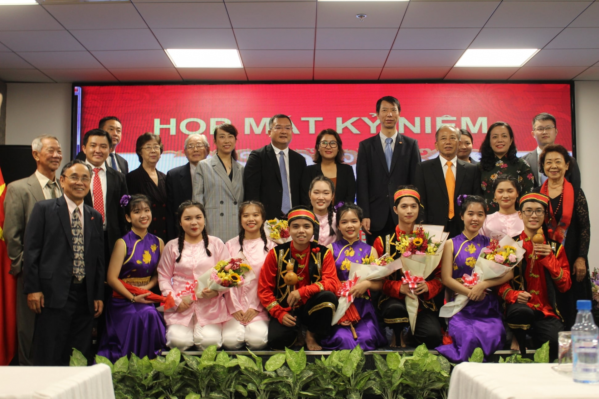 Gathering marks 71st anniversary of China's National Day in HCMC