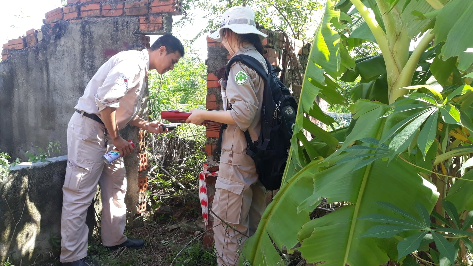 NPA first field deployment of Non Technical Survey in Quang Binh province
