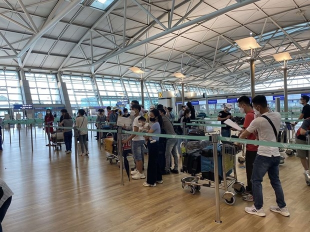 Over 1,400 vietnamese citizens brought home this week