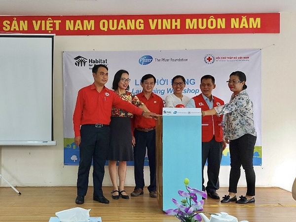 More than USD 43.000 to support Ho Chi Minh city's people through Habitat's COVID-19 Response Project