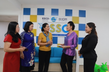one stop support office for returning migrant women launched in hanoi
