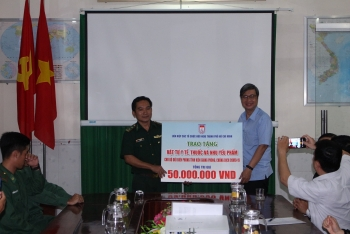 covid 19 fight hufo mobilizes aid to assist third provincial border guard