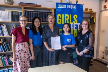 swedish ambassador plan international kick off safety online for girls campaign