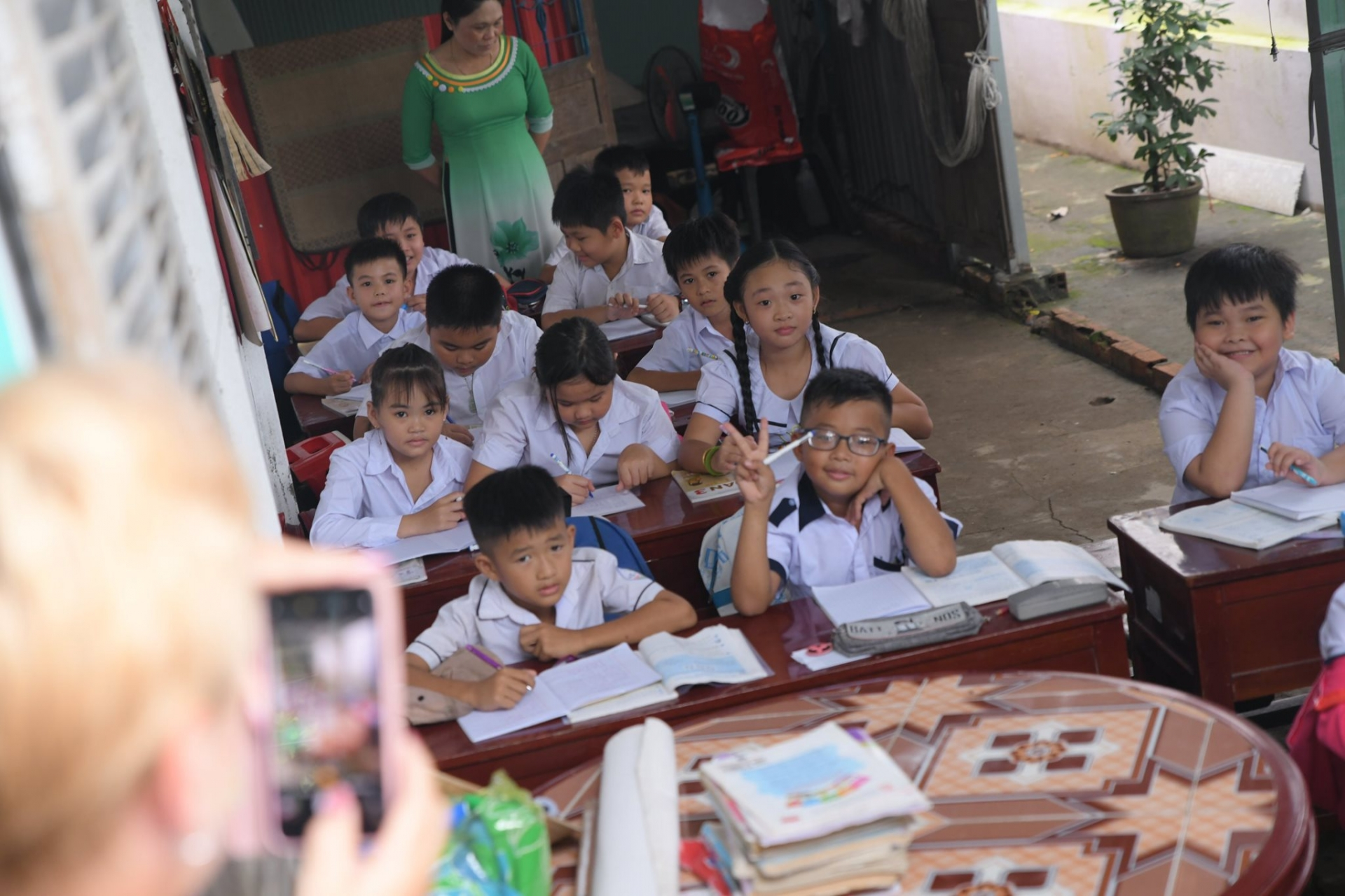 remove barriers to education for vietnamese disadvantaged children