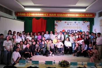 for the first time contest inspiring learn about lgbt community organized in can tho