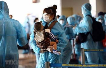 more than 1340 vietnamese citizens brought home last week