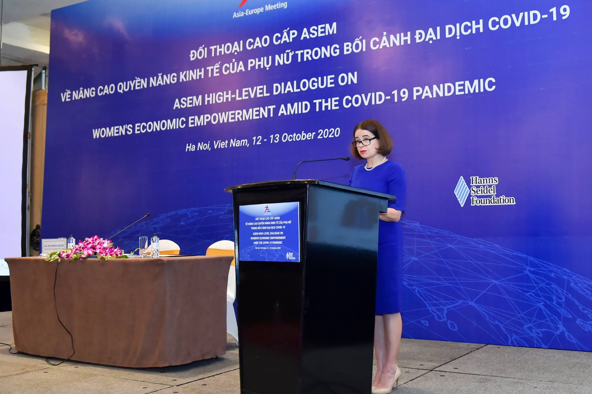 ASEM striving to achieve 'twin goals' of 'not leaving anyone and any women behind'
