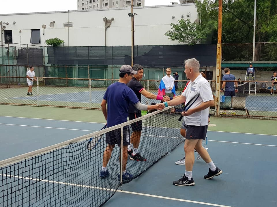Nearly 100 athletes join 2020 Friendship Tennis Tournament in Hanoi