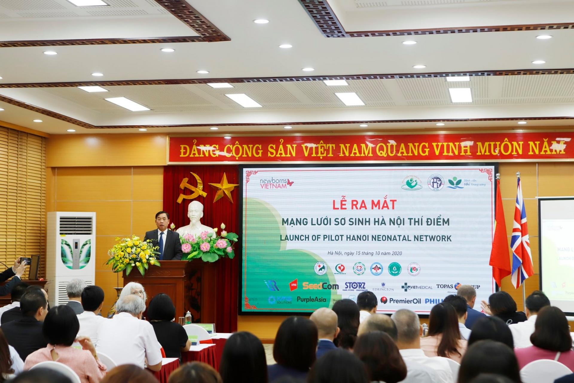 Nine hospitals in Hanoi join network to enhance neonatal care