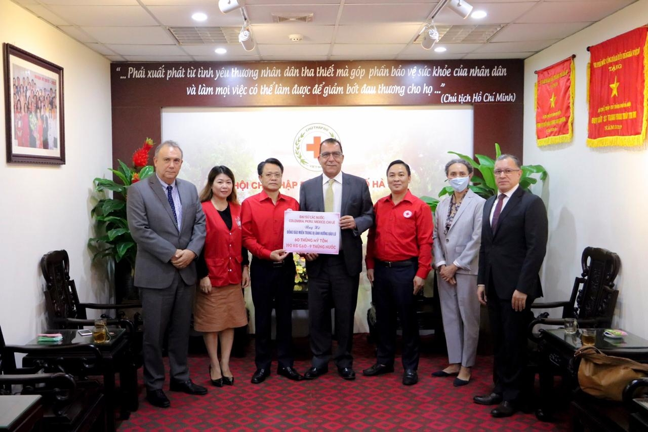 Four country Pacific Alliance support Vietnamese flood victims