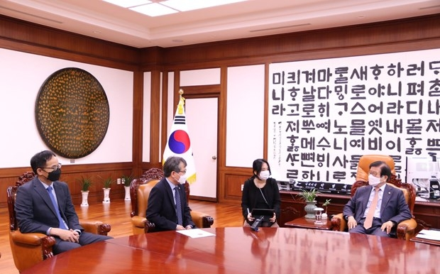 Vietnamese Ambassador meets with RoK's National Assembly Speaker