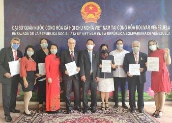 venezuela vietnam friendship association makes debut