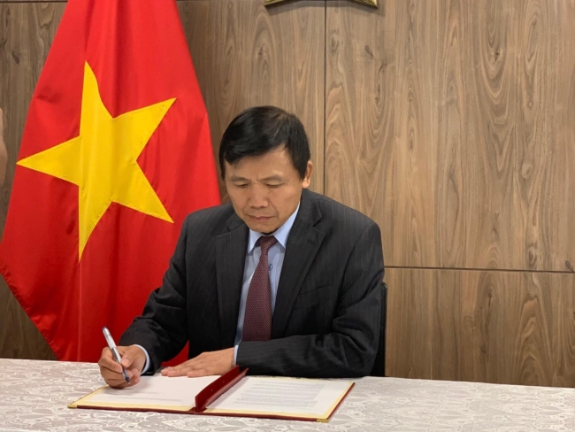 Vietnam signs a call to action on women
