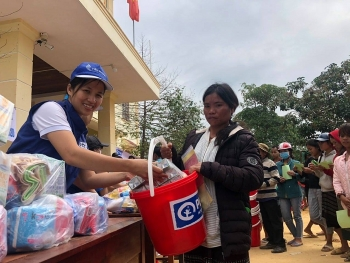 plan international provides flood relief in quang tri