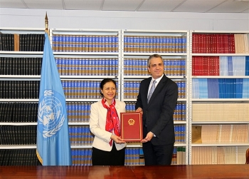 un treaty banning nuclear weapons to enter into force in 90 days