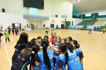 childfund sport for development program brings positive changes for over 11560 youth