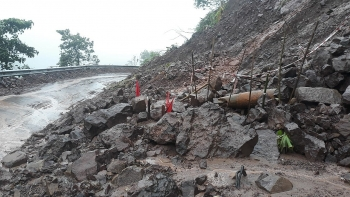 quang tri explosive ordnance exposed after recent torrential rains