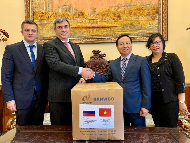 COVID-19 fight: Vietnam thanked for its humanitarian aid to Russia