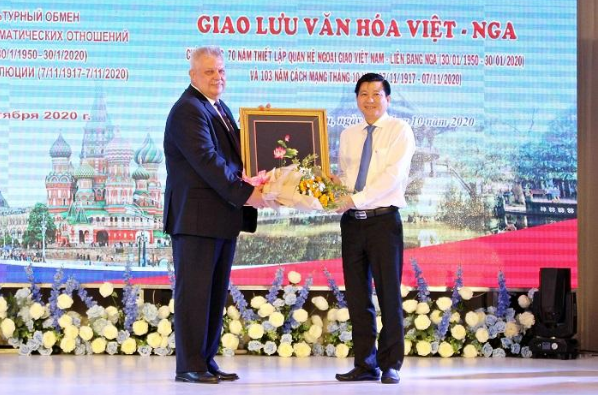 Vietnam – Russia cultural exchange held in southern province