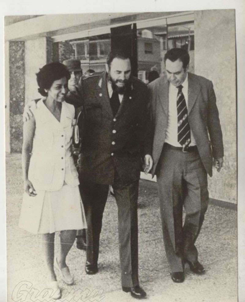Farewell famous Cuban journalist Marta Rojas - a friend of Vietnamese people
