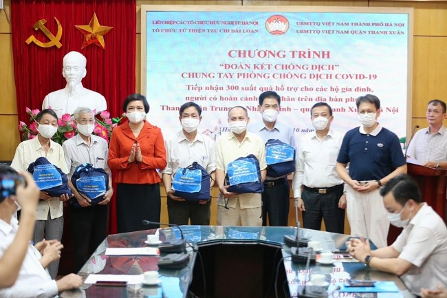 Buddhist Foundation Helps Vietnam in Covid Battle